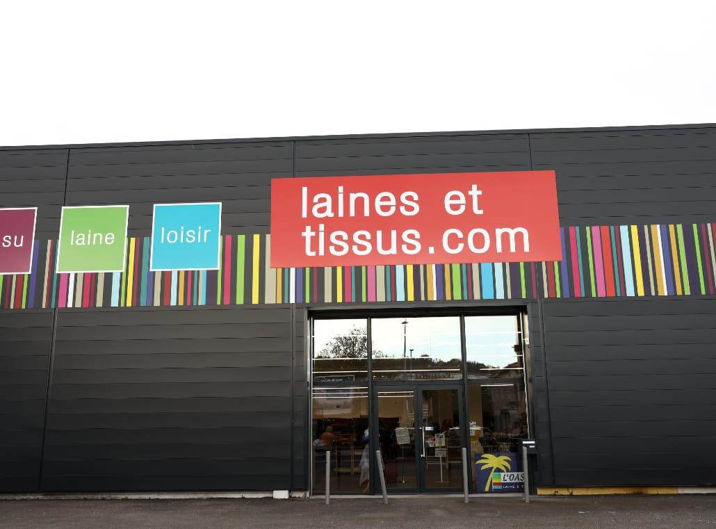 Laines et tissus - Magasin à Angoulême