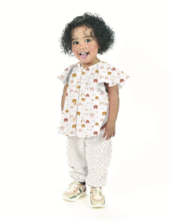 Des tissus pour créer des tenues pour enfants